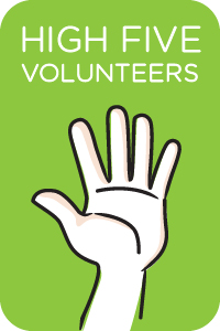Walk MS - Volunteer High Fives